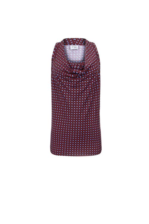 blusa jersey gravataria