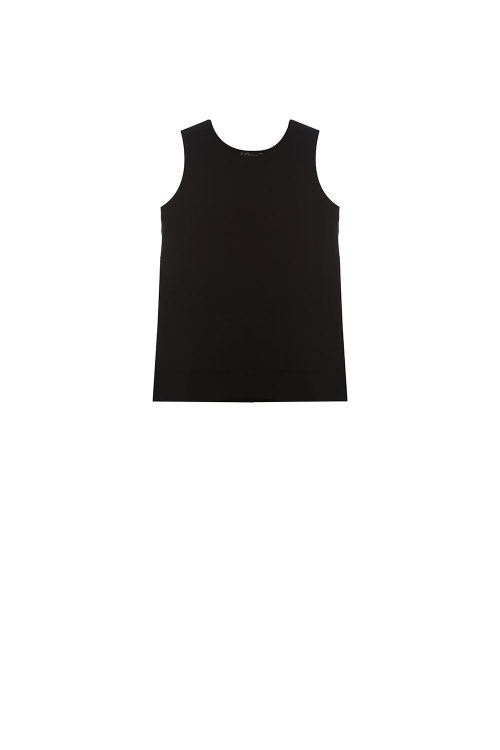 blusa duplo leve costas c/ recortes