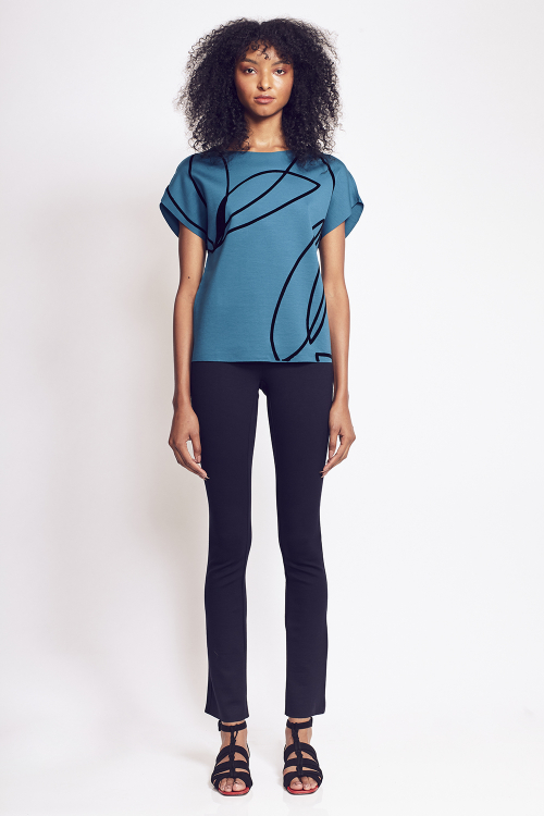 calça malha dupla skinny