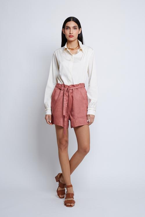 camisa  tricoline manga longa
